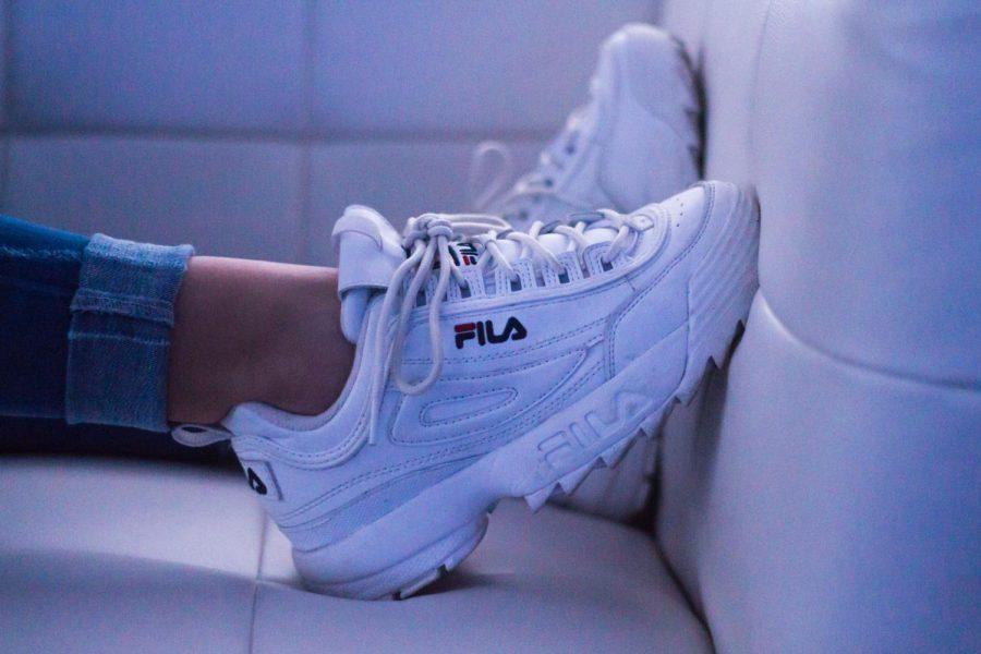 Fila's popularity BOOM